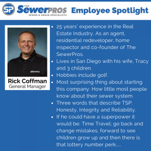 The SewerPros Employee Spotlight